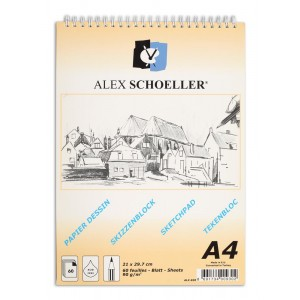 Alex Schoeller Eskiz Blok 90Gr A4 60 Yp
