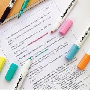 Artline Fosforlu Kalem Pastel Serisi 6 Renk Set
