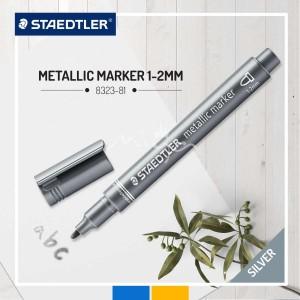 Staedtler Metalik Markör Gümüş 1-2mm