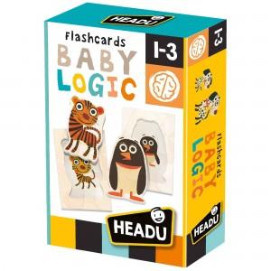 Headu Flashcards Baby Logic (1-3 Yaş)