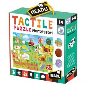 Headu Tactile Puzzle Montessori (1-4 Yaş)