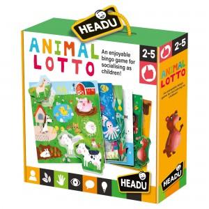 Headu Animal Lotto Montessori (2-5 Yaş)
