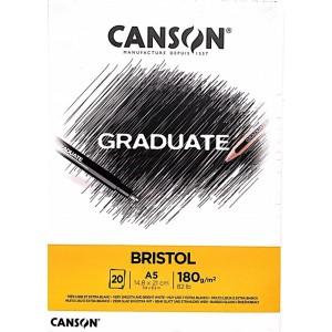 Canson Gradute Brıstol A5 180gr 20 Yaprak