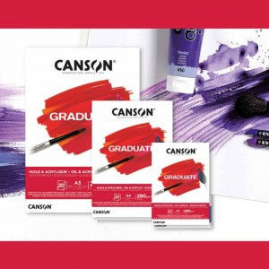CANSON GRADUATE 290 GR A3 30YP OİL & ACRYLİC