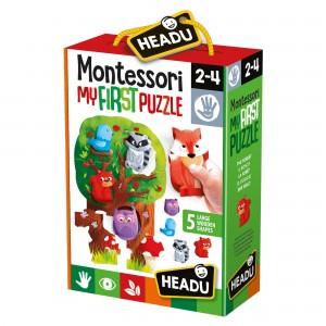 Headu Montessori First Puzzle The Forest (2-4 Yaş)