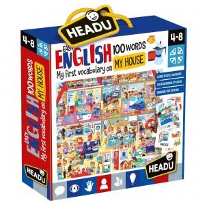 Headu Easy English 100 Words My House (4-8 Yaş)