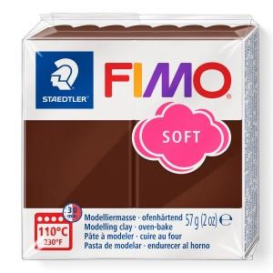 Fimo Modelleme Kili (Polimer Kil) Soft Çikolata 57 Gr. - 75