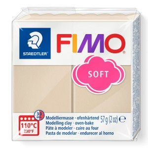 Fimo Modelleme Kili (Polimer Kil) Soft Çöl Beji 57 Gr. - 70