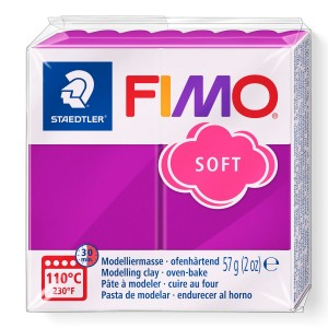 Fimo Modelleme Kili (Polimer Kil) Soft Mor 57 Gr. - 61