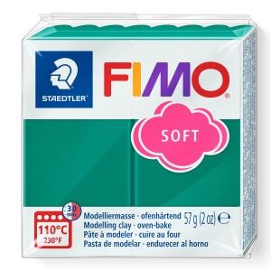 Fimo Modelleme Kili (Polimer Kil) Soft Zümrüt Yeşili 57 Gr. - 56