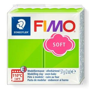 Fimo Modelleme Kili (Polimer Kil) Soft Elma Yeşil 57 Gr. - 50