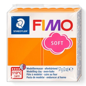 Fimo Modelleme Kili (Polimer Kil) Soft Mandalina 57 Gr. - 42