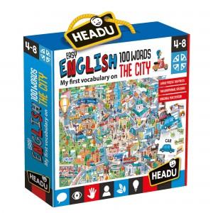 Headu Kolay İngilizce 100 Kelime Şehir (4-8 Yaş)