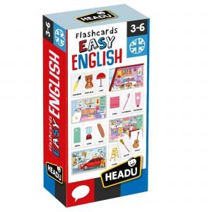 Headu Kolay İngilizce Hafıza Kartları (3-6 Yaş)