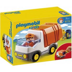 Playmobil 1.2.3 Geri Dönüşüm Kamyonu 6774