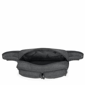 Eastpak Bumbag Double Black Denim Mini Çanta
