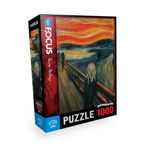 Blue Focus 1000 Parça Puzzle - The Scream (Çığlık)