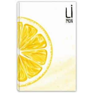 Lilamor Meyveli Defter - Limon