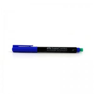 Faber Castell Asetat Kalemi Permanent S-Mavi