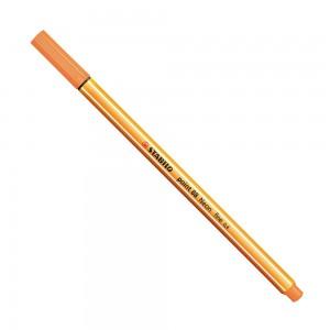 Stabilo Point 88 İnce Uç Keçeli Kalem 0.4 mm Florasan Turuncu 88/054