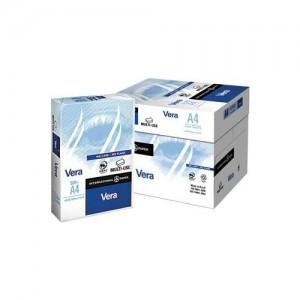 Vera A4 Fotokopi Kağıdı Beyaz 80Gr 1 Koli (5 pakette toplam 2500 yaprak)